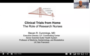 Dr. Cummings at OCT East Coast - Clinical Trials from Home: The Role of Research Nurses